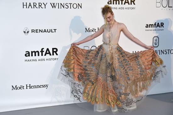 Elle Fanning Dress at amfAR Gala Cannes 2016