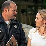 Chris Bauer as Andy and Lauren Bowles as Holly on True Blood. Photo courtesy of HBO