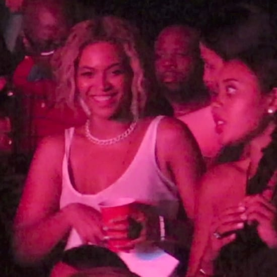 Beyonce Drinking From a Solo Cup | Photos