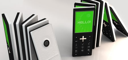The Slick Domino-Themed Phone