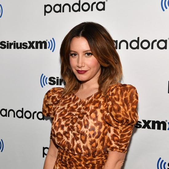 Ashley Tisdale's Makeup Routine During Self-Isolation