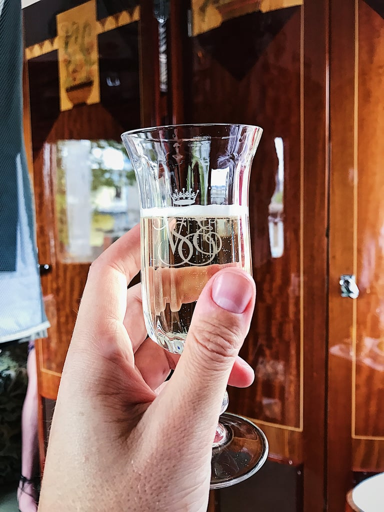 A Champagne Toast and Expert Service