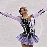 Alina Zagitova's 2018 Olympics Short Program Costume