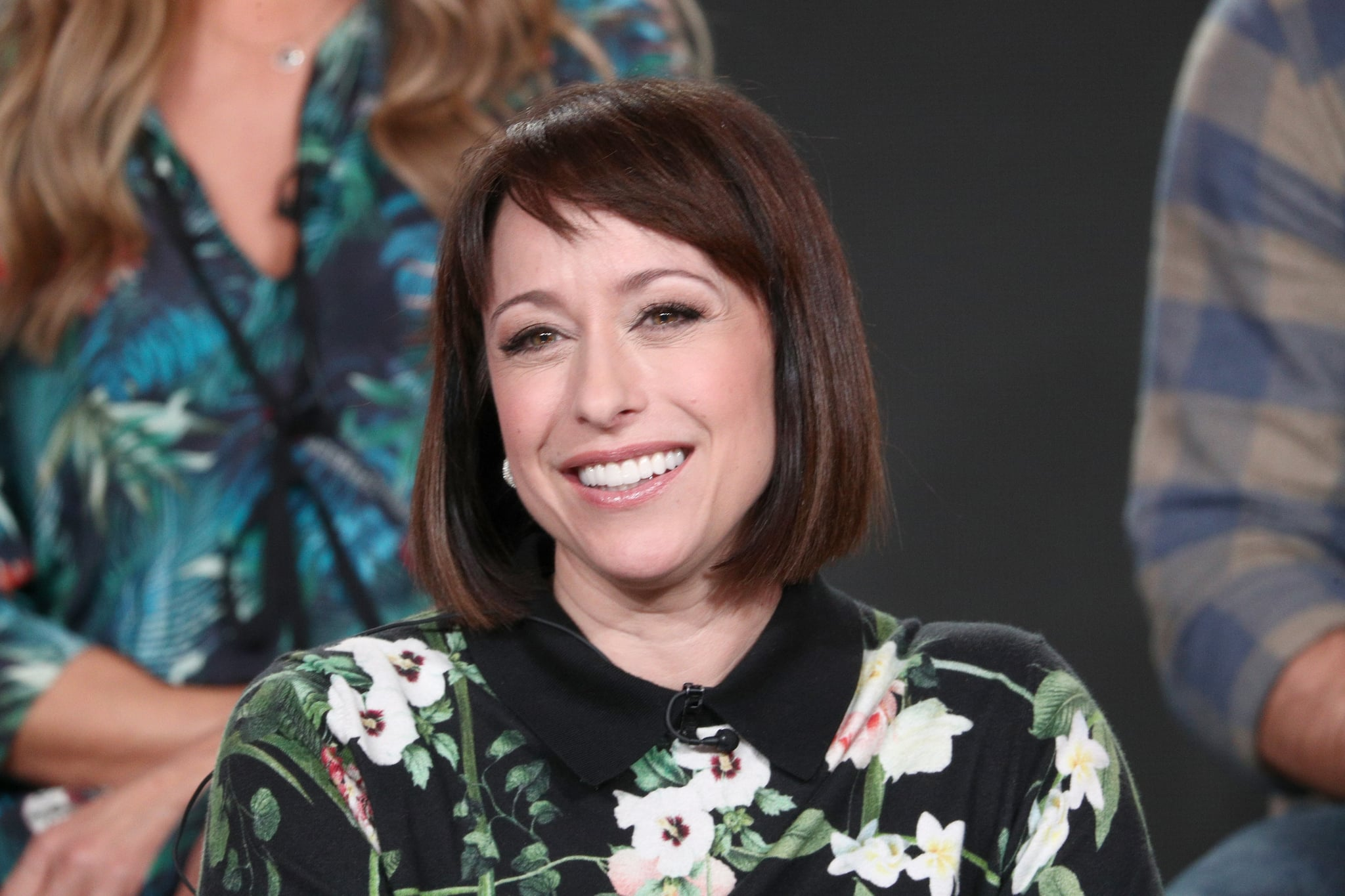 PASADENA, CA - JANUARY 12:  Original cast member Paige Davis of 'Trading Spaces' on TLC speaks onstage during the Discovery Communications portion of the 2018 Winter Television Critics Association Press Tour at The Langham Huntington, Pasadena on January 12, 2018 in Pasadena, California.  (Photo by Frederick M. Brown/Getty Images)
