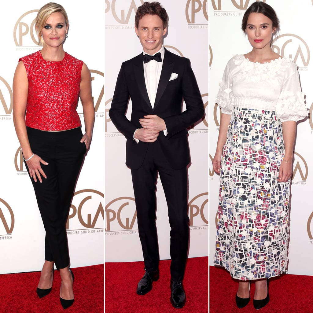 Producers Guild Awards Dresses 2015