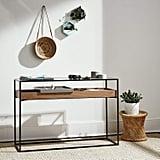 A Sleek Wooden Cabinet