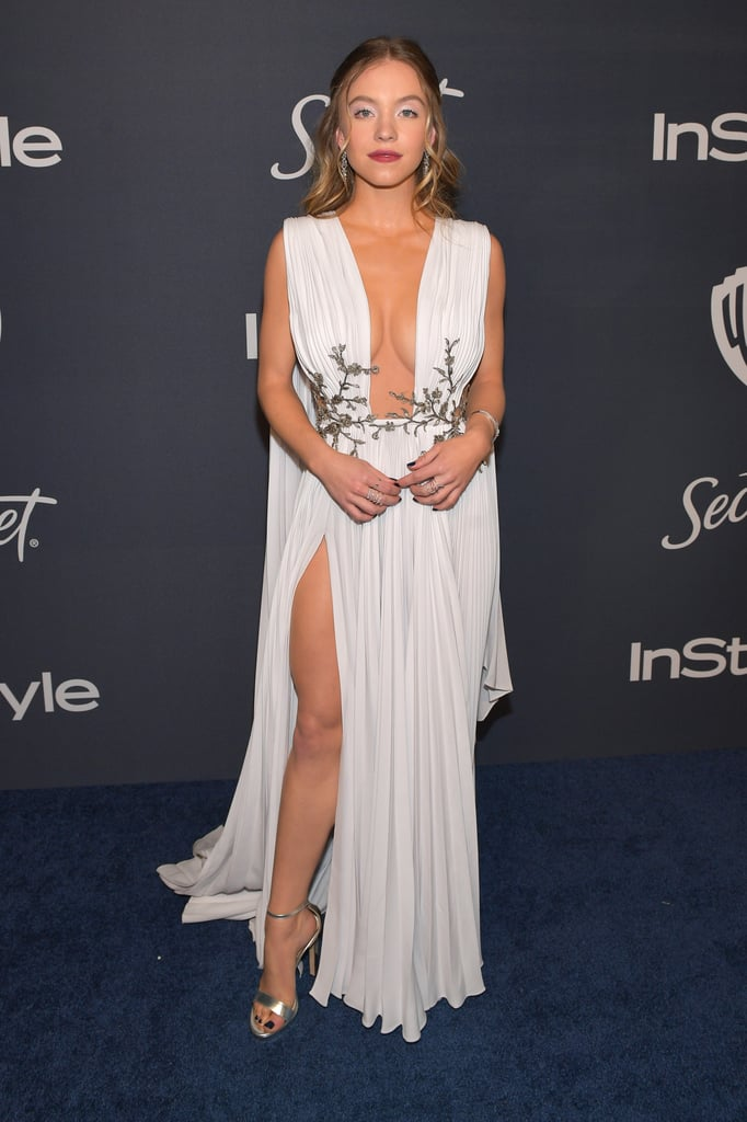 Sydney Sweeney at the 2020 Golden Globes Afterparty