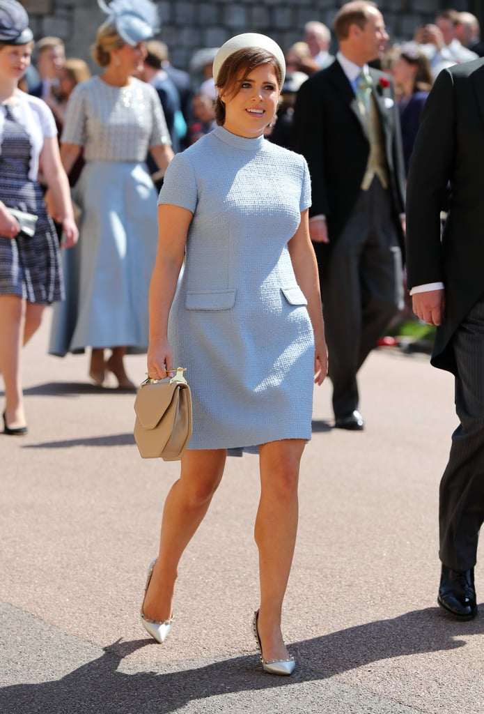 Princess Eugenie Wearing Gainsbourg at Prince Harry and Meghan Markle's Wedding