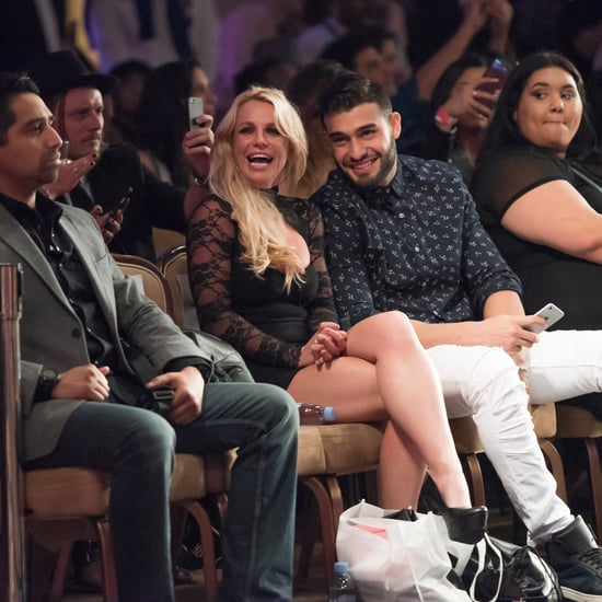 Britney Spears at Fashion Show With Boyfriend March 2017
