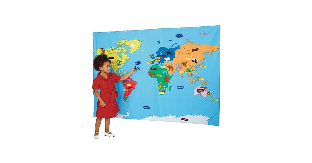 Fao Schwarz World Map.Fao Schwarz Big World Map Globe Themed Games Decor And Toys