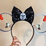 Baby Yoda Inspired Mickey Ears