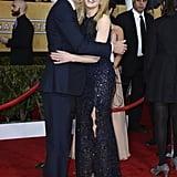 Tom Hooper and Nicole Kidman