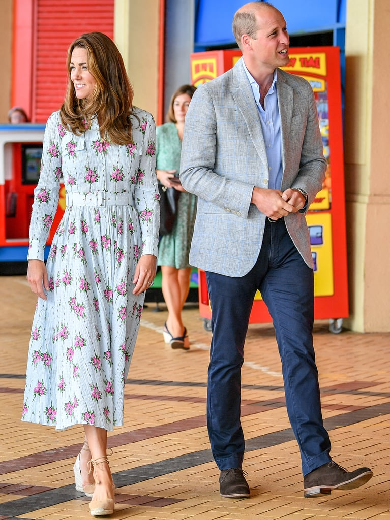 Kate Middleton Wears Floral Emilia Wickstead Dress Again