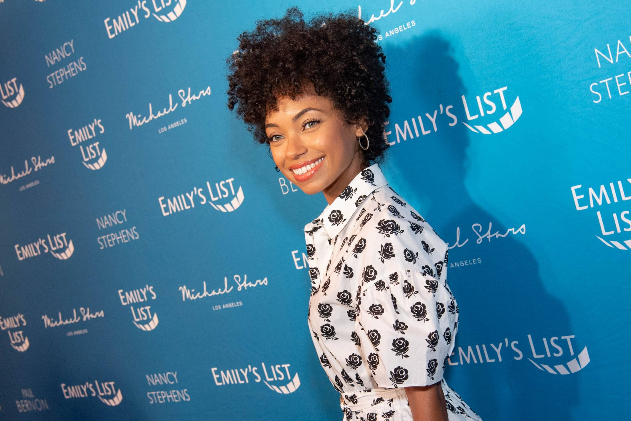 LOS ANGELES, CALIFORNIA - FEBRUARY 04: Logan Browning arrives at Emily's List 3rd annual pre-oscars event at Four Seasons Hotel Los Angeles at Beverly Hills on February 04, 2020 in Los Angeles, California. (Photo by Emma McIntyre/WireImage)