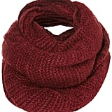 Did we mention we love snoods? This Topshop Zigzag Snood ($32) comes in gorgeous, deep-merlot hue.