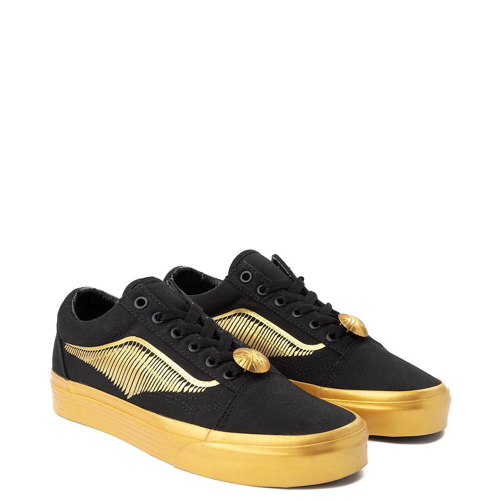 Vans x Harry Potter Old Skool Golden Snitch Skate Shoes