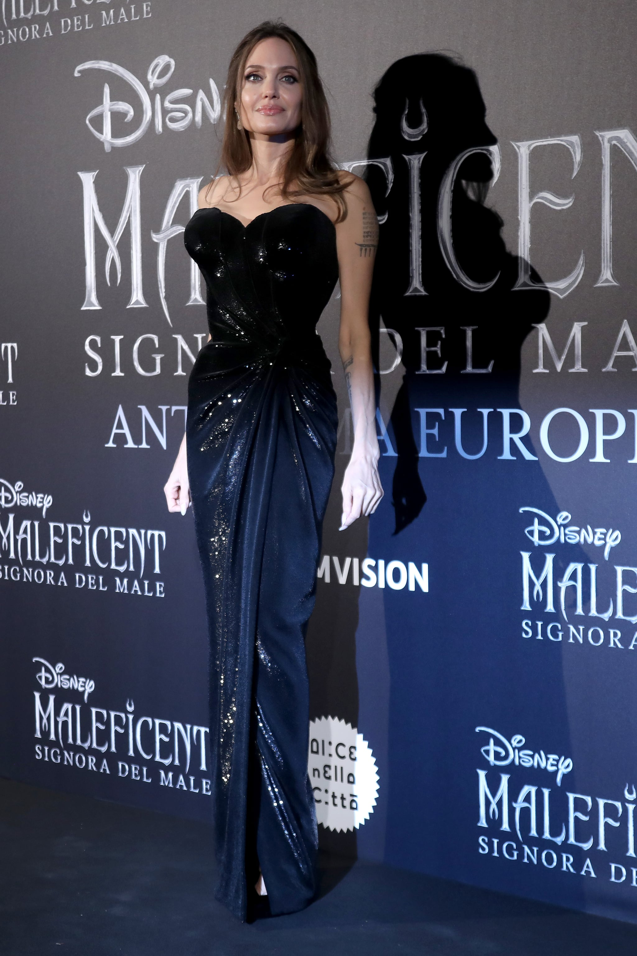 Angelina Jolie At The Maleficent Mistress Of Evil European