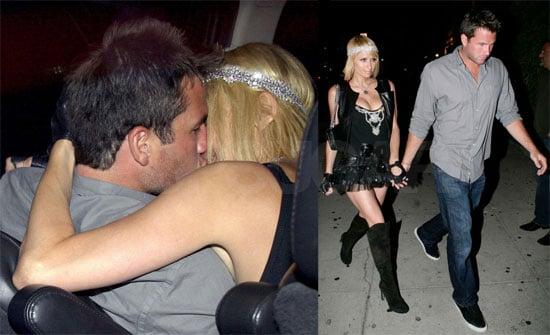 Photos of Paris Hilton and Doug Reinhardt Kissing in LA