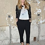 Doutzen Kroes attended the launch of Maison Martin Margiela for H&M in NYC.