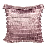 H&M Tiered-Fringe Cushion Cover ($14.99)