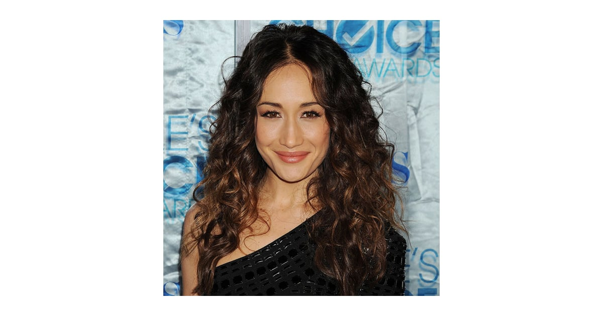 Maggie Q Hairstyle: How To Get Soft Curls Like Maggie Q's