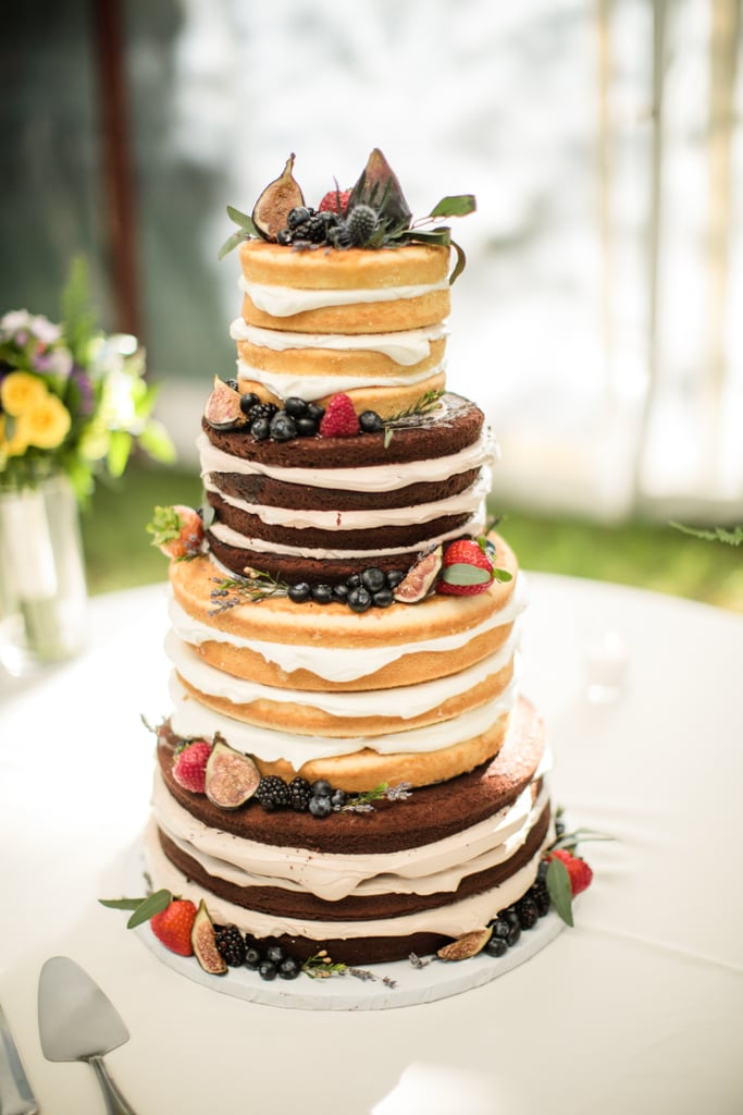 Stacked Sponge Cake