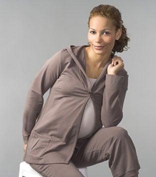 Boob Maternity Hoodie ($110)