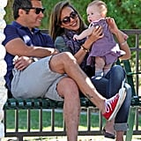 Cash Warren celebrated the birth of his second daughter, Haven Garner, with wife Jessica Alba in August 2011.