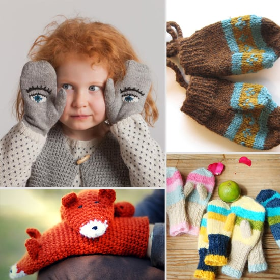 Seriously Smitten! Adorable Handmade Mittens For Tots