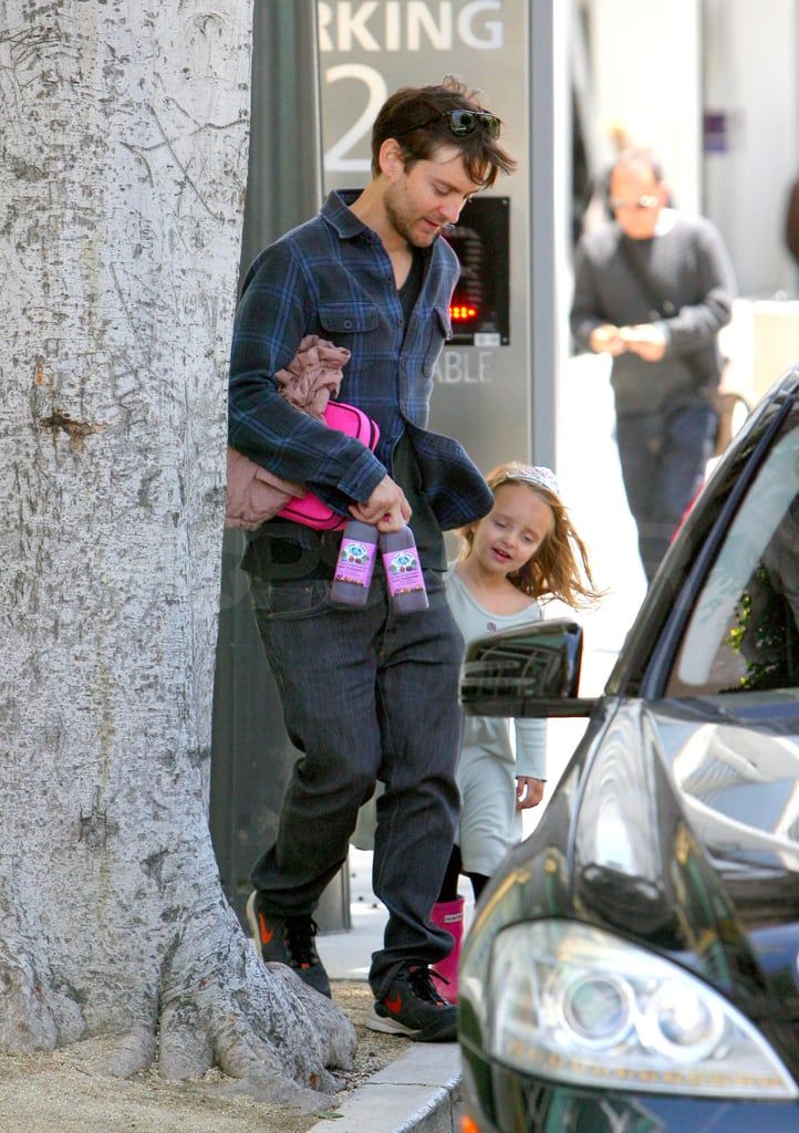 Tobey Maguire Hangs With Ruby While a New Star Joins The Great Gatsby Cast