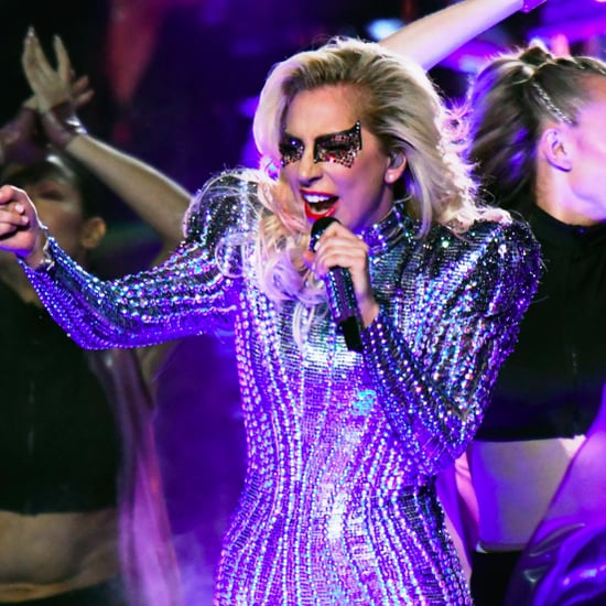 Lady Gaga Hair and Makeup Super Bowl 2017