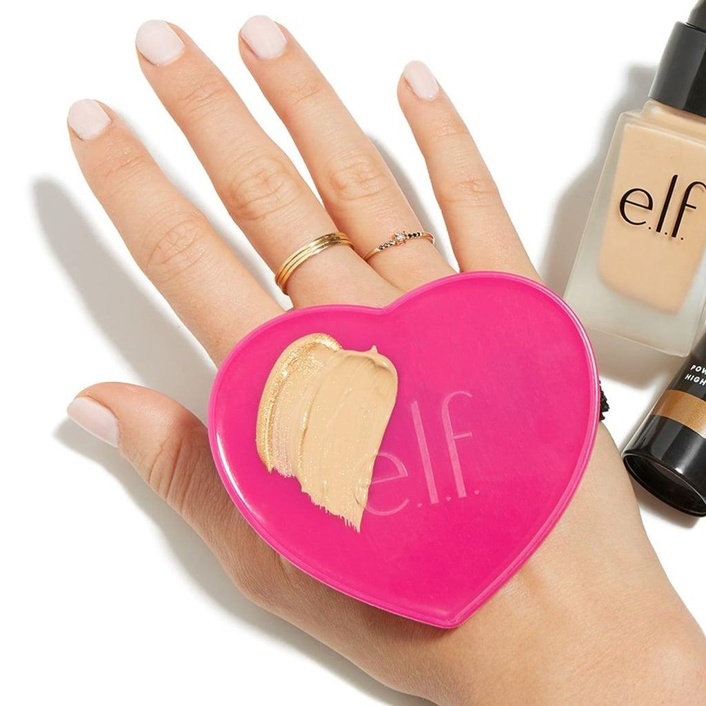 E.L.F. Heart-Shaped Makeup Mixing Palm Palette