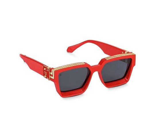 Louis Vuitton Red 1.1 Millionaires Sunglasses