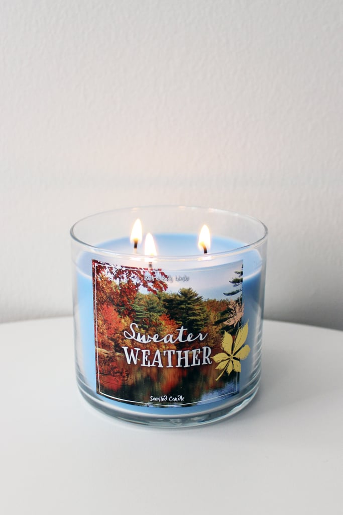 Bath Body Works Sweater Weather Best Fall Candles Of 2016