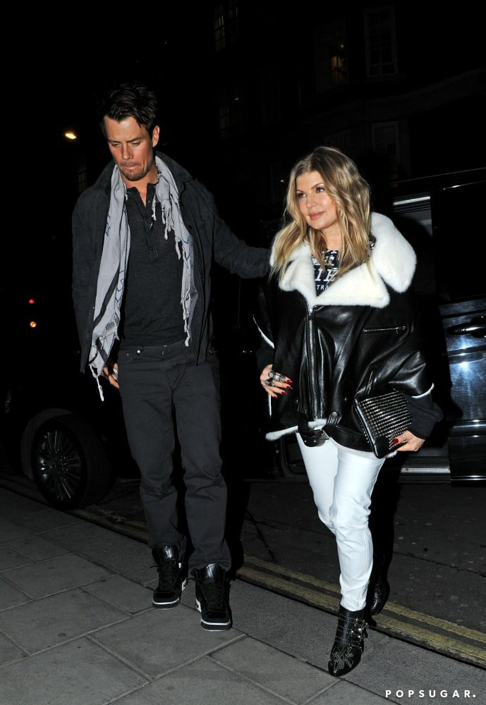Josh Duhamel Takes Pregnant Fergie Out on a Sweet Date in London