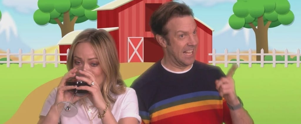 Olivia Wilde and Jason Sudeikis Timeout Music Video on Ellen
