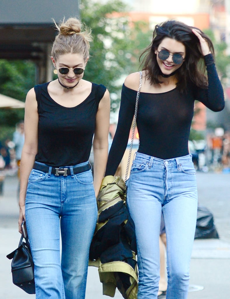 Kendall Jenner and Gigi Hadid's Matching Outfits June 2016