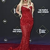Tana Mongeau at the 2019 People's Choice Awards