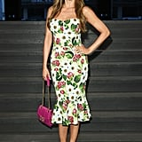 Sofia Vergara at the Dolce & Gabbana Milan Fashion Week Show