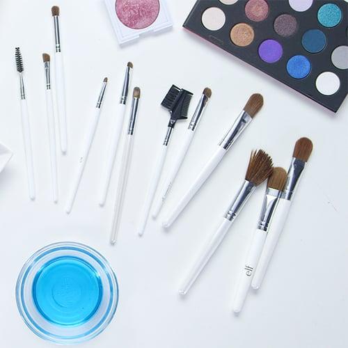 DIY Makeup Brush Cleaners at Home
