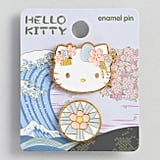Hello Kitty Blue Flower Enamel Pins