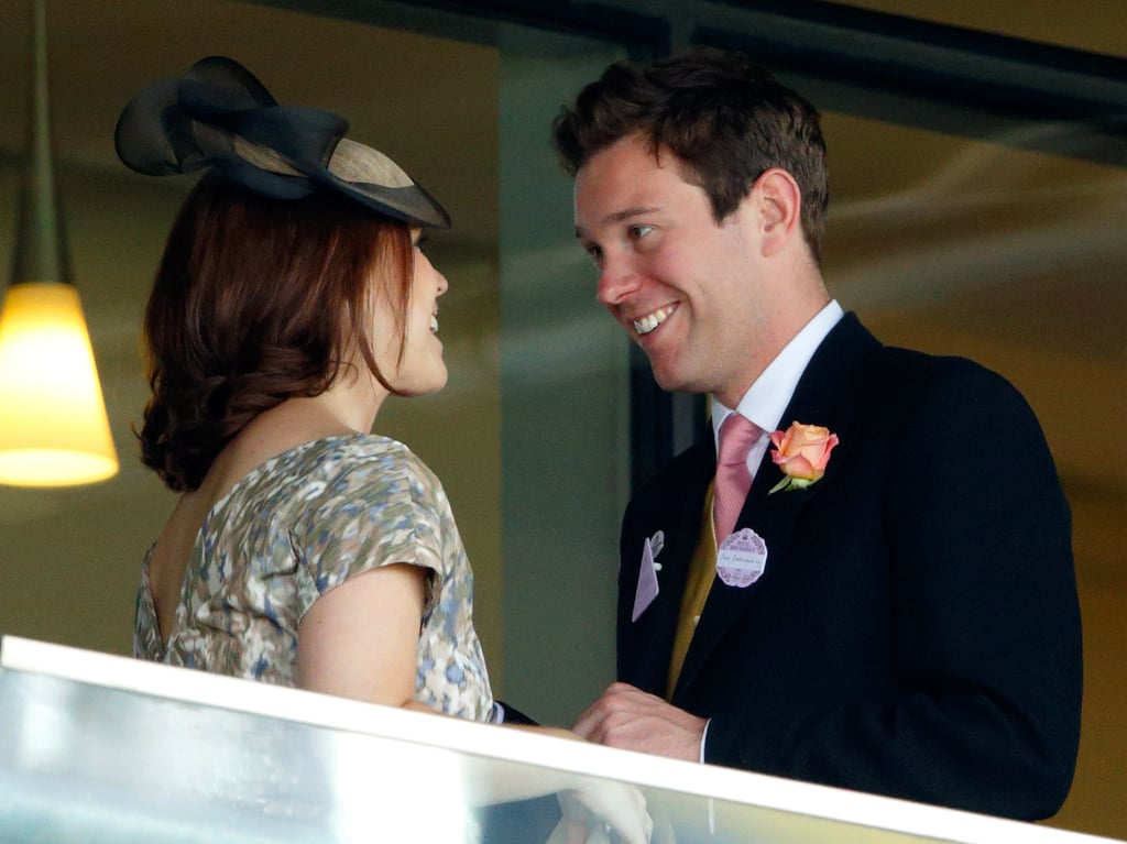 When Princess Eugenie announced her engagement to long-term boyfriend Jack Brooksbank, we were immediately excited. After all, it's not often we get two big royal weddings in one year! Eugenie and Jack, who works in hospitality, dated for seven years before he popped the question, and during that time we've had a glimpse at their relationship as they've attended events like Royal Ascot and the Chelsea Flower Show, as well as Pippa Middleton and James Matthews's 2017 wedding. They're often seen giggling and sharing secret smiles, and it's easy to see how much love they share. While we impatiently await their October wedding, take a look back at some of their sweetest moments over the years. We're sure there are plenty more to come.