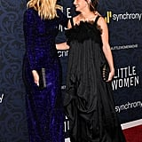 Pictured: Laura Dern and Emma Watson at the Little Women world premiere.