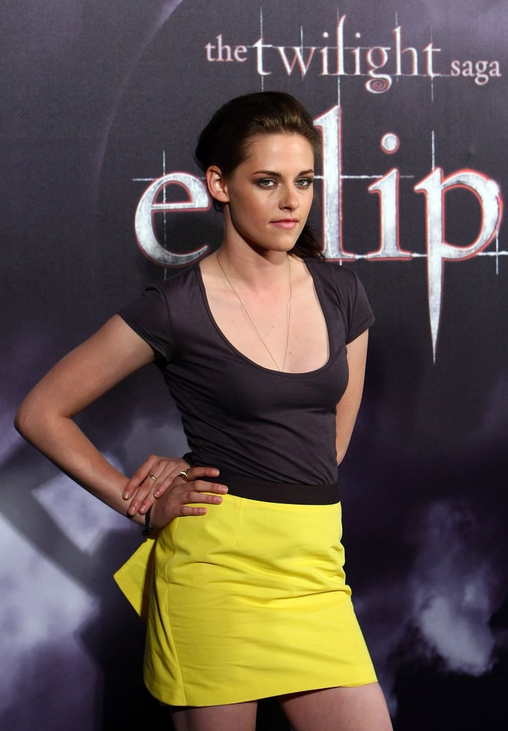 Pictures of Kristen Stewart and Taylor Lautner Promoting Eclipse in Australia