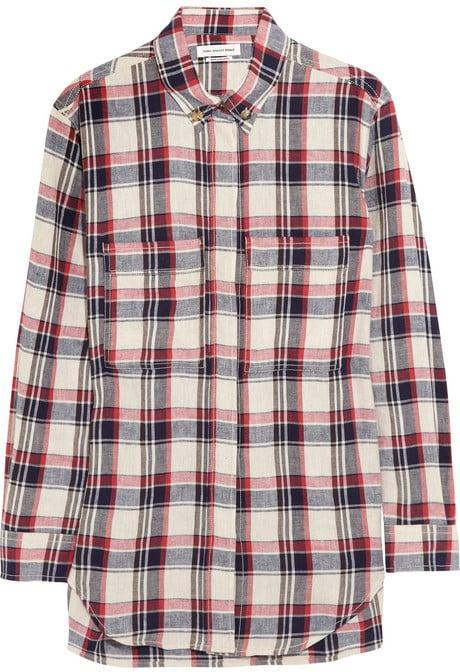 Etoile Isabel Marant Plaid Shirt