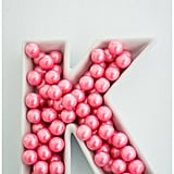 Candy Dish Letters