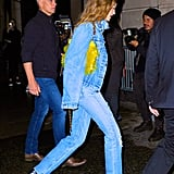 """Gigi Hadid Jeans With """"24"""" on Her Birthday"""