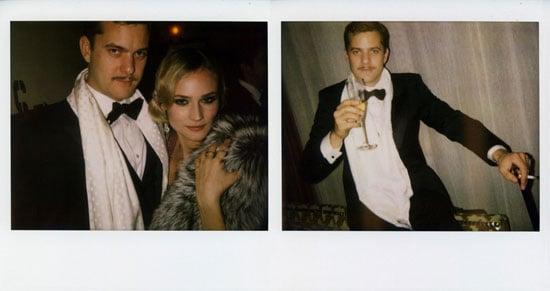 Joshua Jackson and Diane Kruger Celebrate New Year's Eve