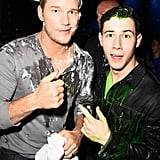 Chris Pratt and Nick Jonas