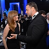 Isla Fisher and Russell Crowe